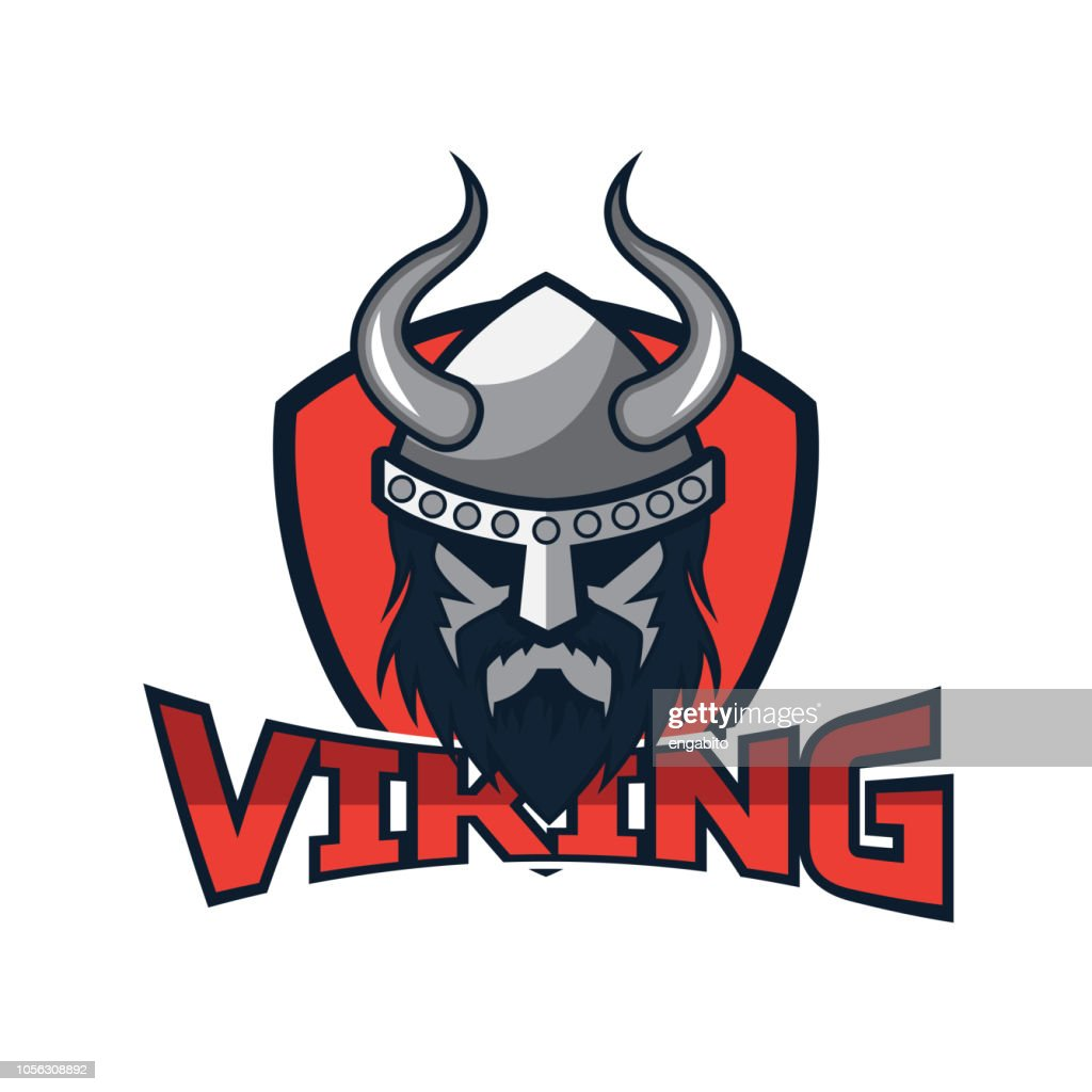 viking warrior , vector illustration