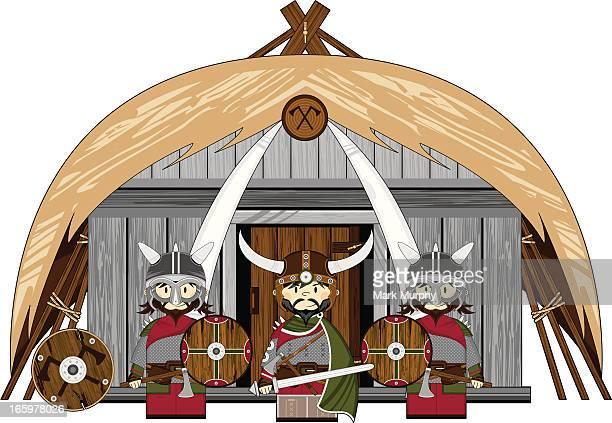 Viking Warriors at House