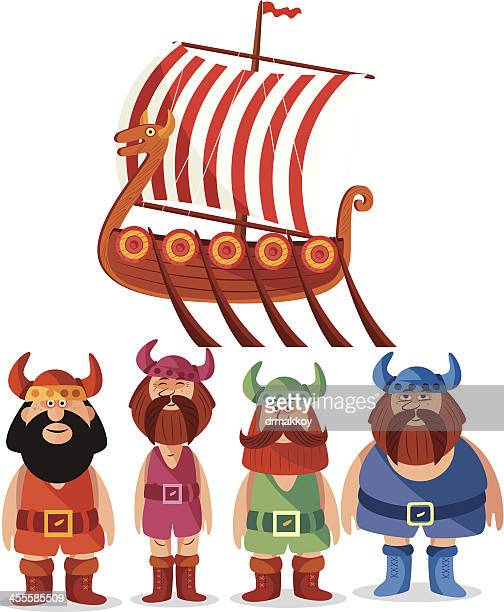 vikings - wikinger stock-grafiken, -clipart, -cartoons und -symbole