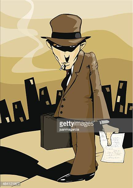 Villain, gangster, criminal, murderer or tax inspector. Bad news.