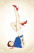 Vintage 1950's Pin-Up