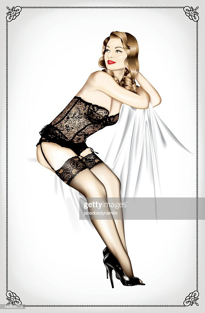 Vintage 1950s Pin Up