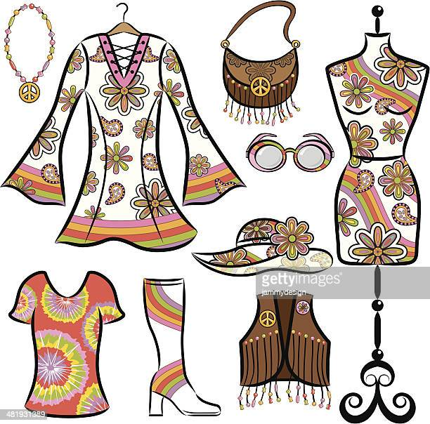 Vintage 1960's Clothing Set