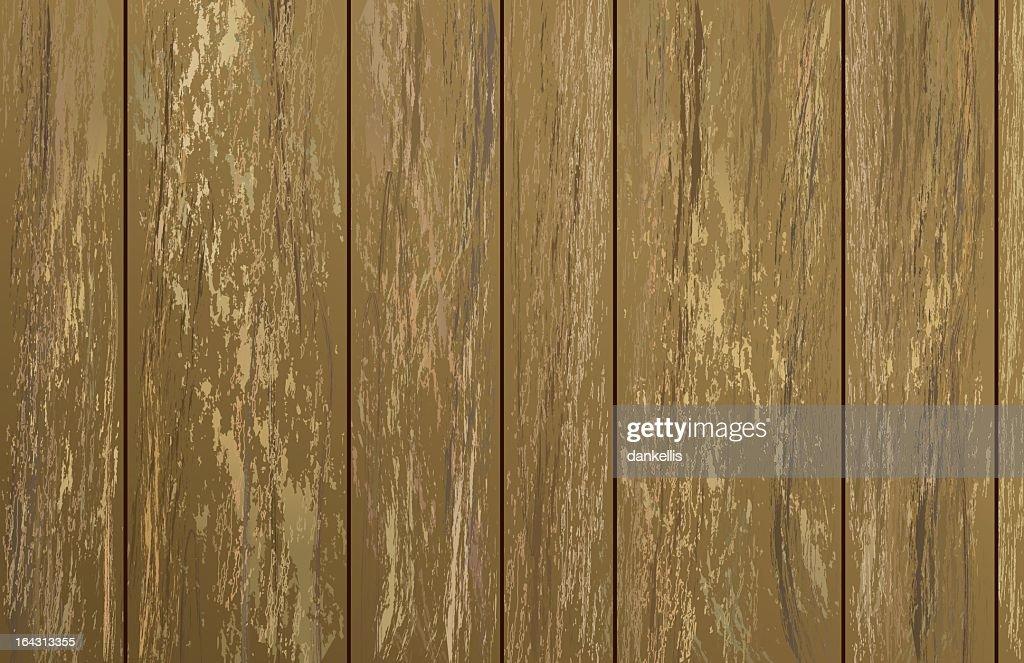 Vintage 1970's vertical wood panel