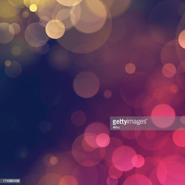 stockillustraties, clipart, cartoons en iconen met vintage autumn fall bokeh defocus blurry lights background - glamour