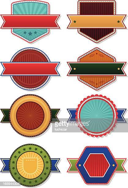 Vintage badges collection