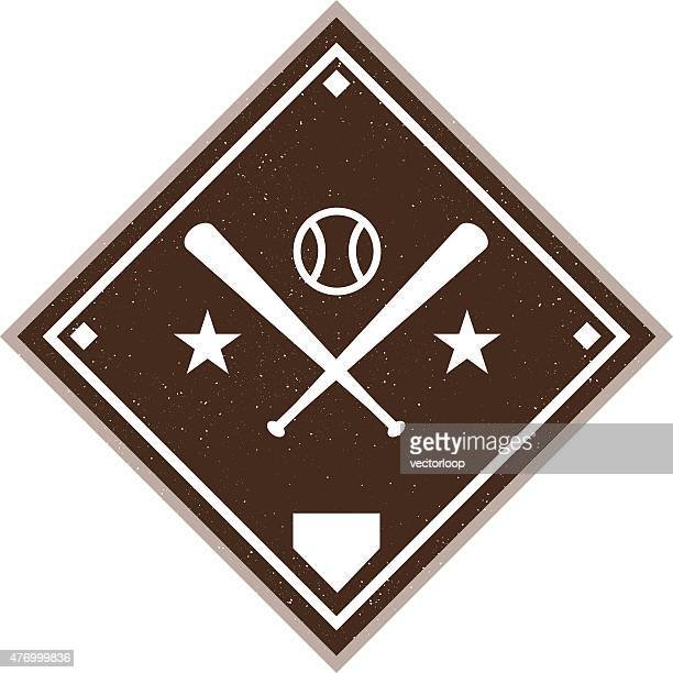 Vintage Baseball Diamond
