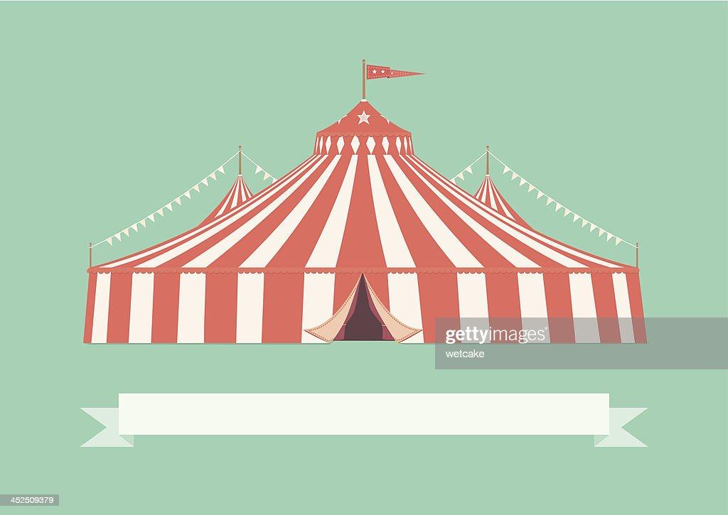 Vintage Big Top Circus Tent  Vector Art  sc 1 st  Getty Images & Vintage Big Top Circus Tent Vector Art | Getty Images