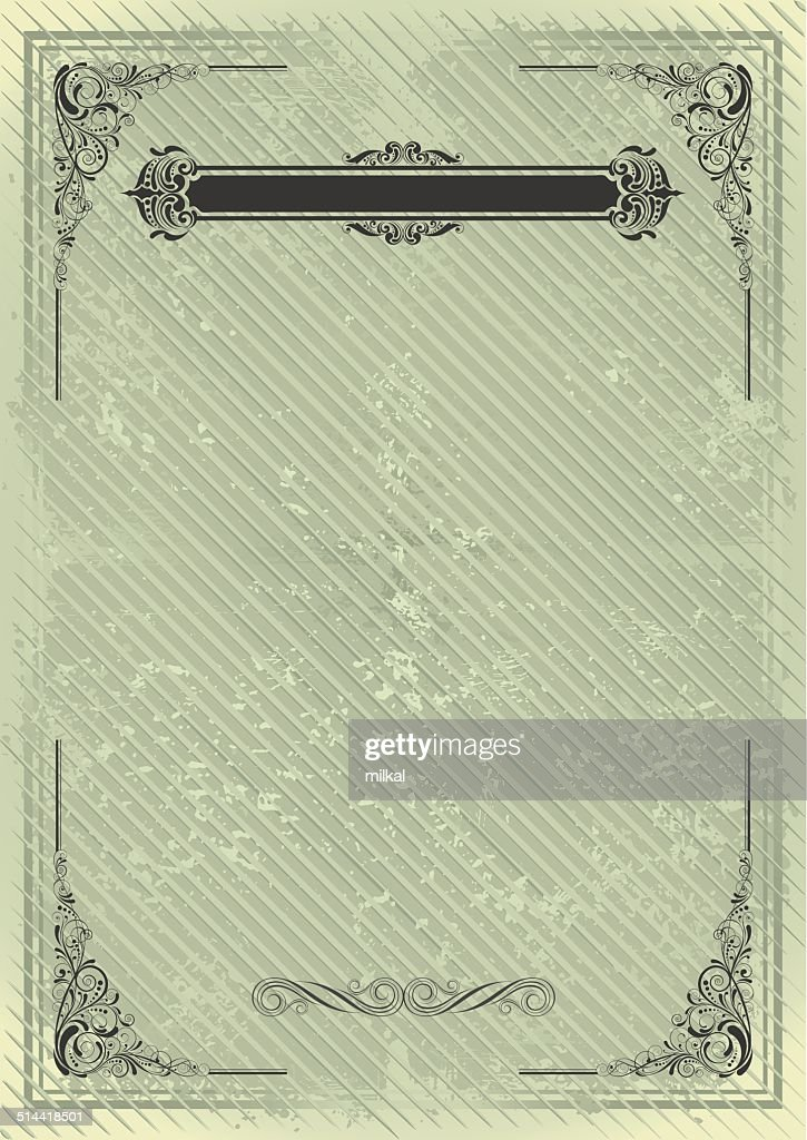 Vintage blank grunge background