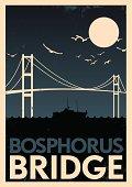 Vintage Bopshorus Poster
