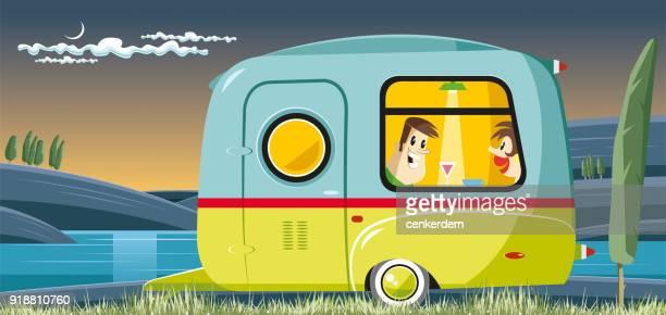 Vintage caravanas