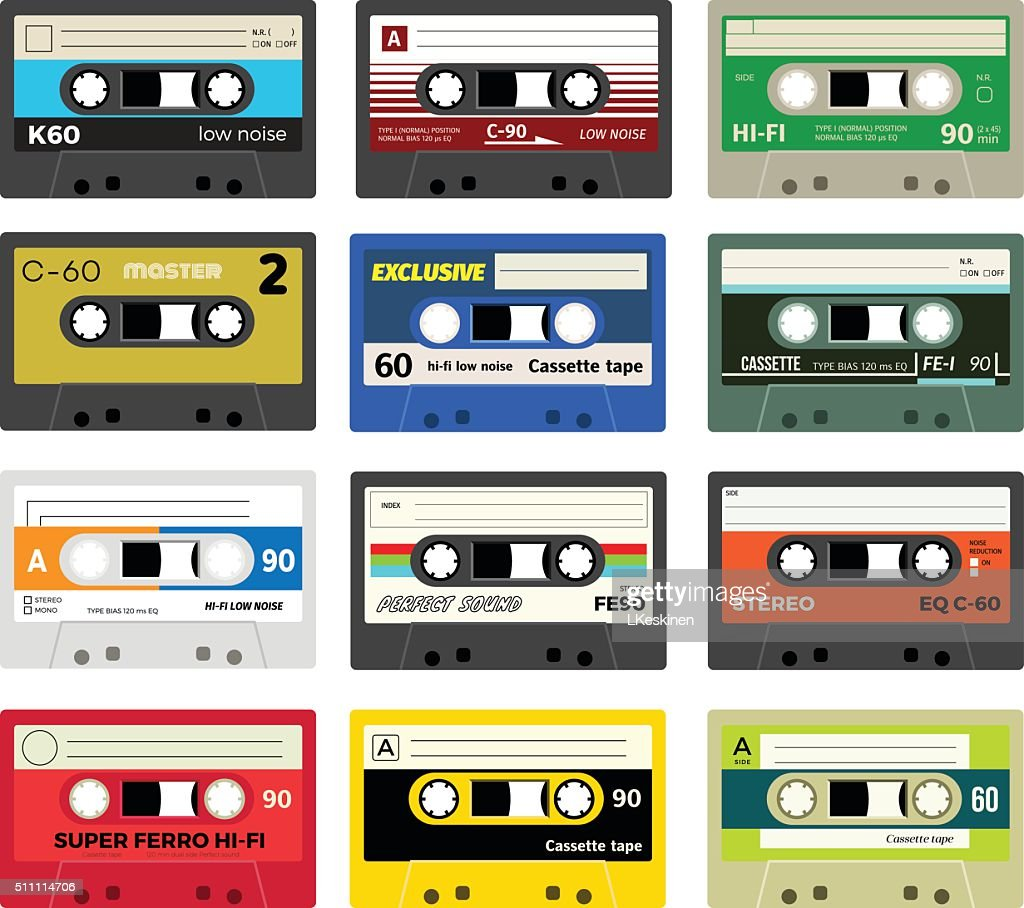 Vintage cassette tapes vol 1