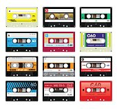 Vintage cassette tapes vol 4