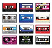 Vintage cassette tapes vol 5