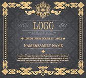 vintage certificate Thai style