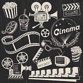 Vintage Cinema Icons