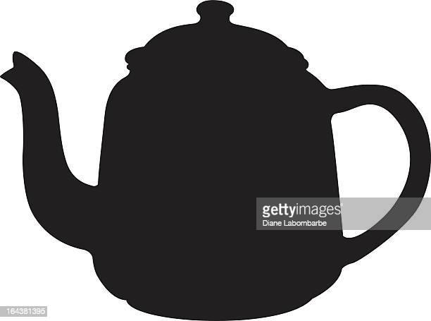 Vintage Coffee Pot Silhouette