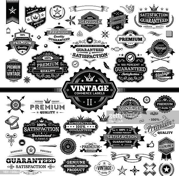 Vintage Commerce Labels - Complete Set 2