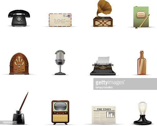 Vintage Communication and Media