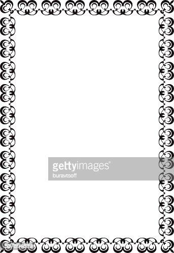 Vintage Cool Frame Vector Art   Getty Images