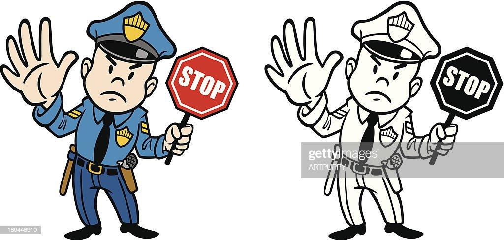 K9 Male Police Officer Petting Dog Vector Cartoon Clipart - FriendlyStock    Dog vector, Kids police, Cartoon clip art