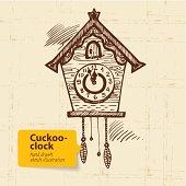 Vintage cuckoo-clock