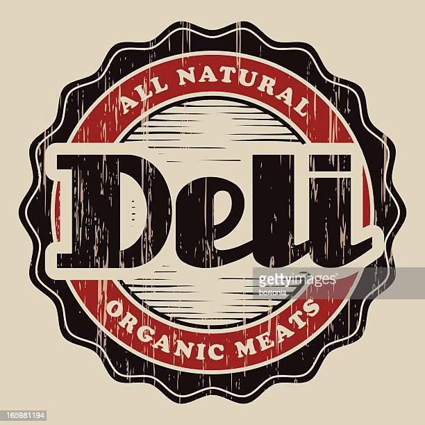 Vintage Deli Label