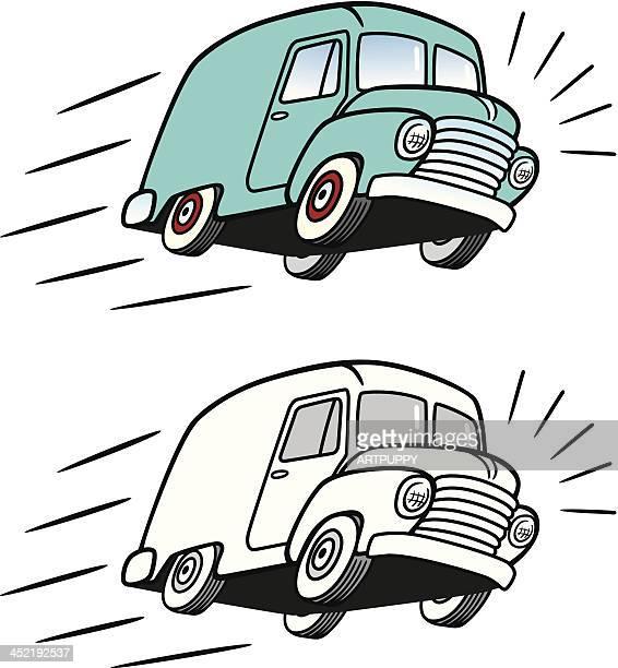 VIntage Delivery Van