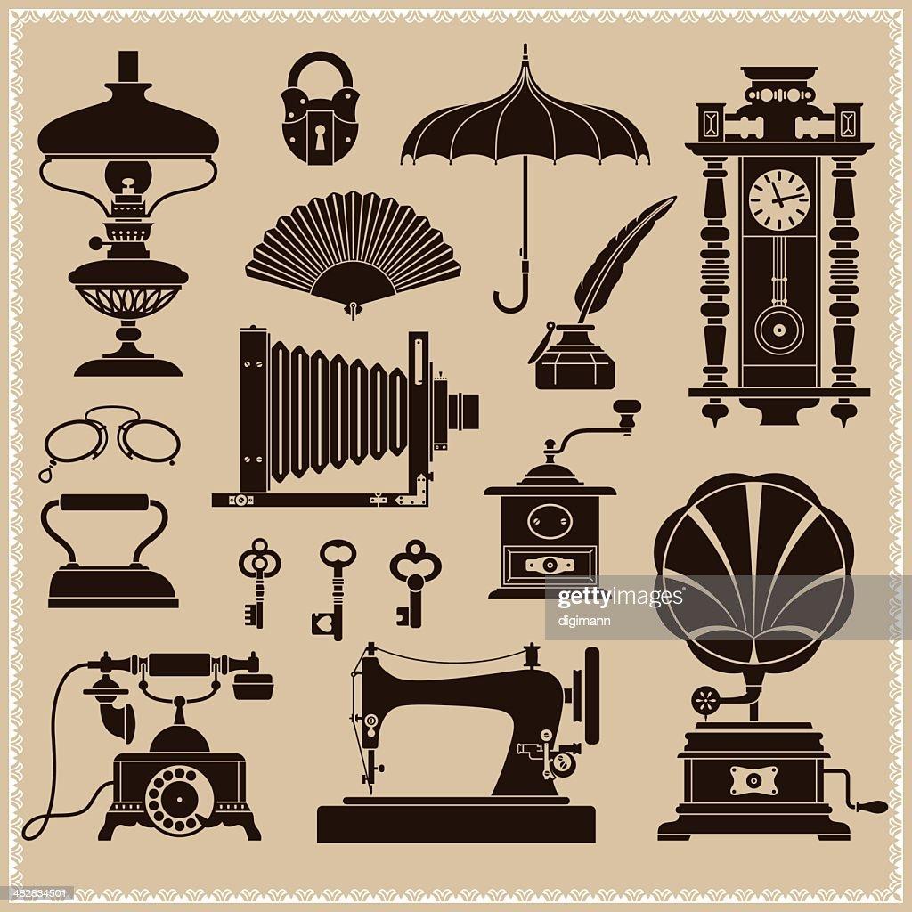 Vintage Ephemera And Objects Of Old Era