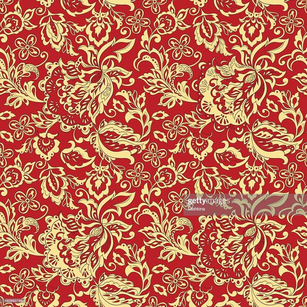 vintage floral seamles pattern