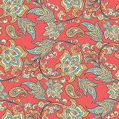 vintage floral seamless patten