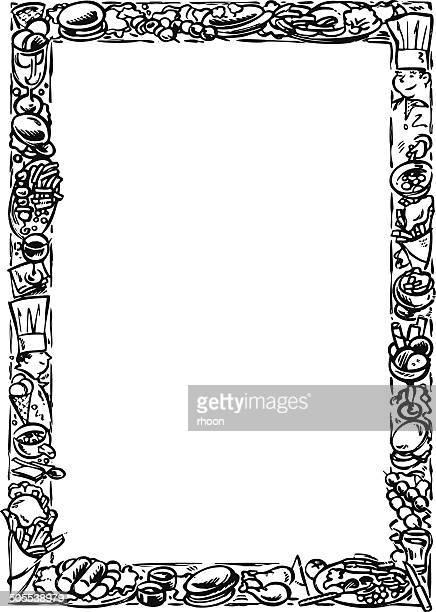 Vintage frame border