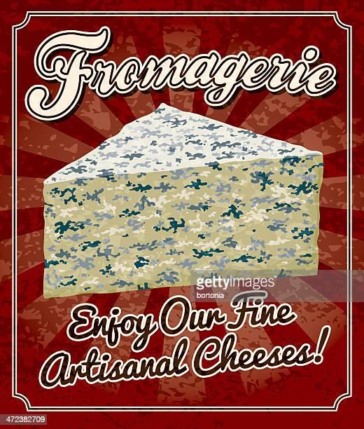 Vintage-Fromagerie (Käserei) kaufen Poster