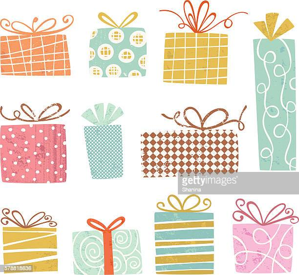 Vintage gift Boxes