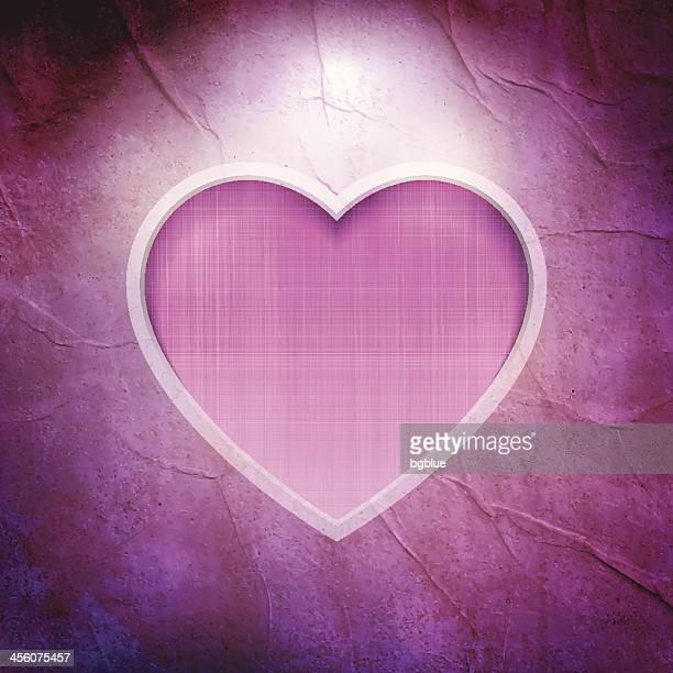 Vintage heart frame