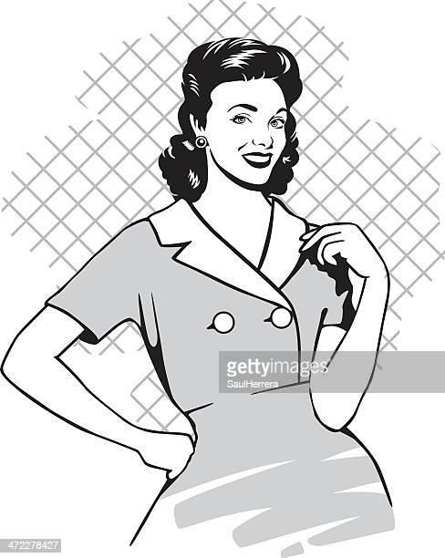 Femme vintage