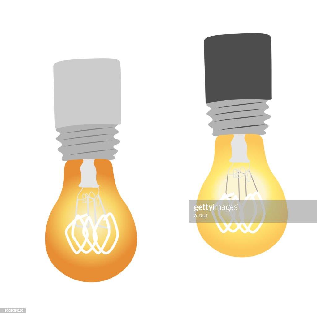 Vintage Incandescent Lightbulbs