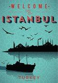 Vintage Istanbul Poster