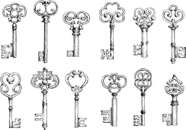 Free vintage key Images, Pictures, and Royalty-Free Stock