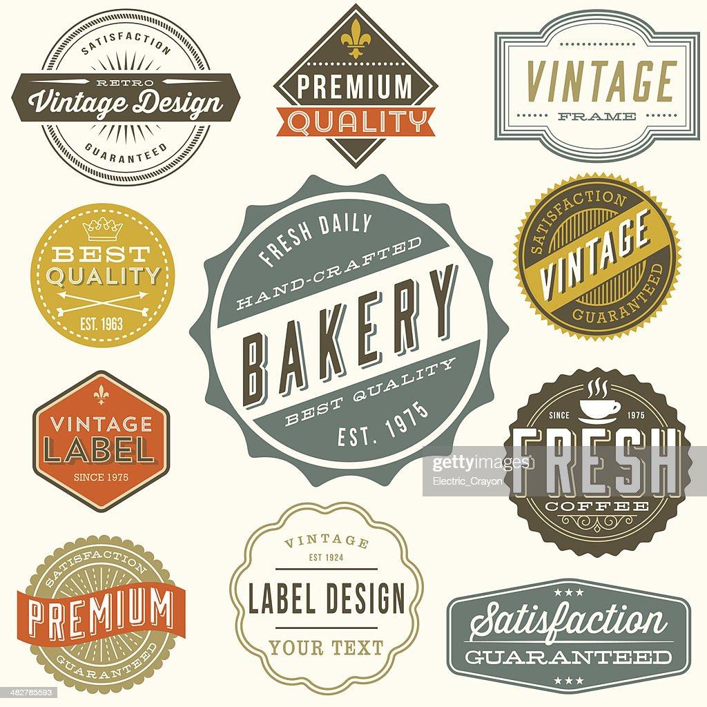 Vintage Label Designs