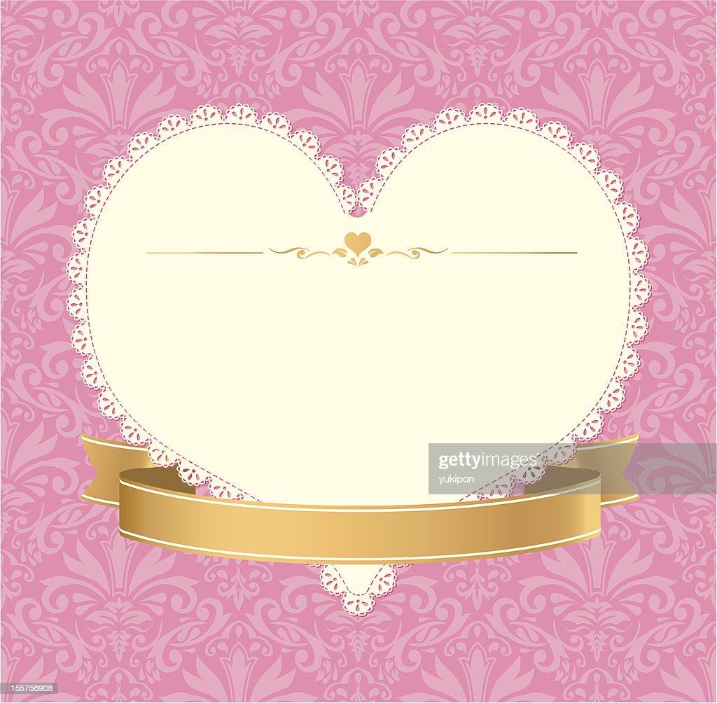 Vintage label invitation vector frame pink vector art getty images vintage label invitation vector frame pink vector art stopboris Choice Image