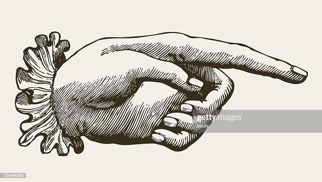 Vintage Lady Hand