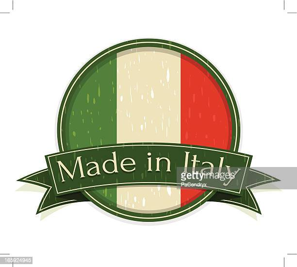 Vintage Made in Italy Sign