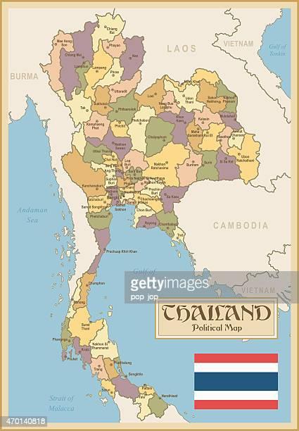 Pattani Thailand Map.Pattani Stock Illustrations And Cartoons