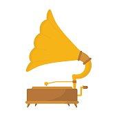 Vintage Music Player / Phonograph / Recorder