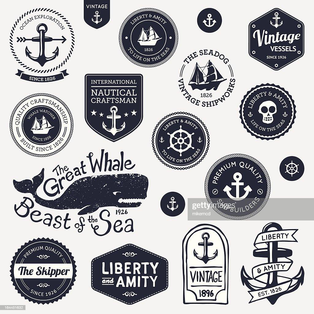 Vintage nautical designs