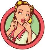 vintage pinup girl