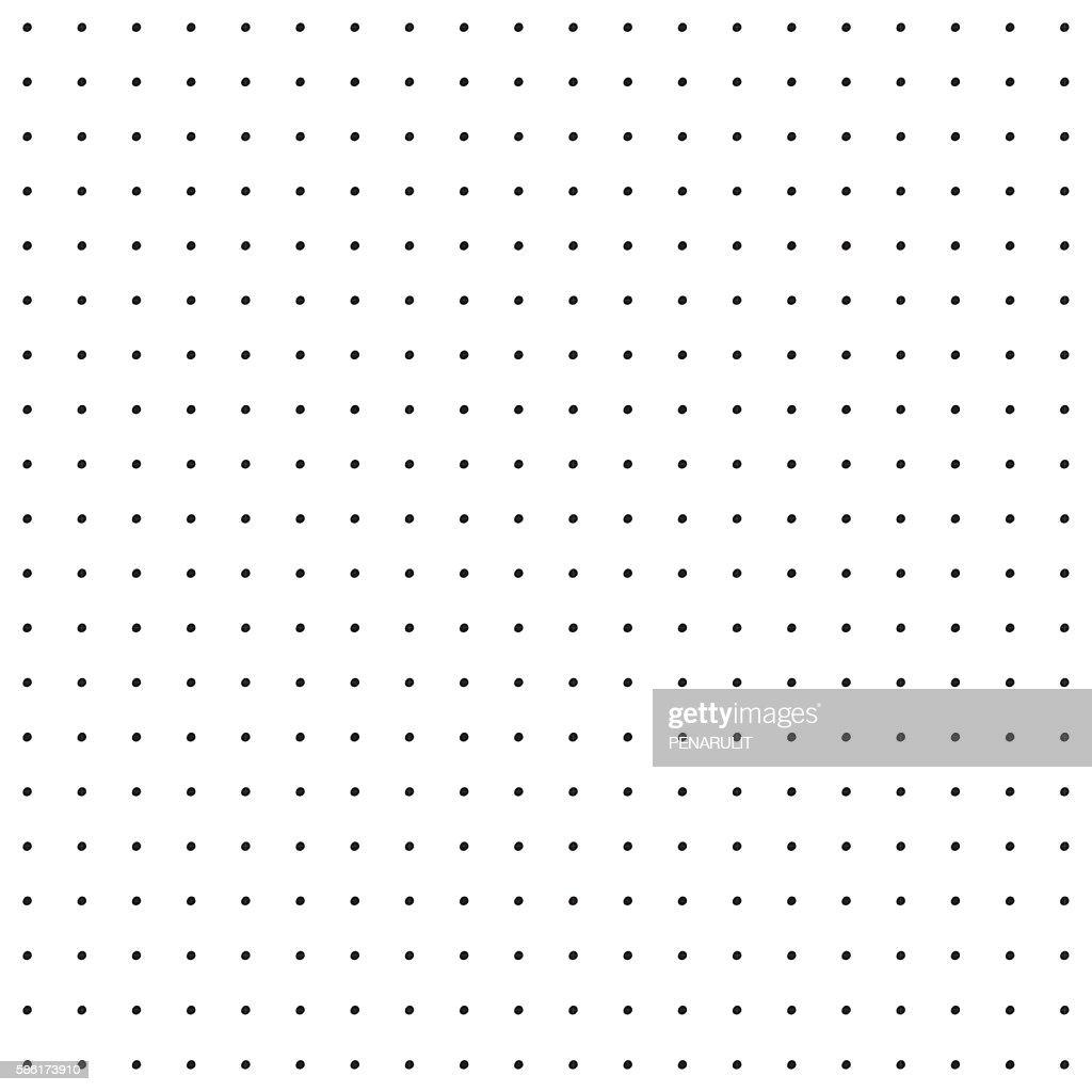 Vintage Polka Dot Pattern