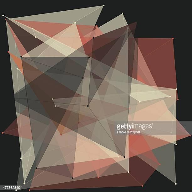 vintage polygon-muster - frankramspott stock-grafiken, -clipart, -cartoons und -symbole