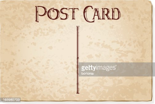 Vintage postcard template vector art getty images pronofoot35fo Image collections